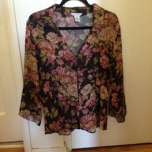 CAbi silk blouse